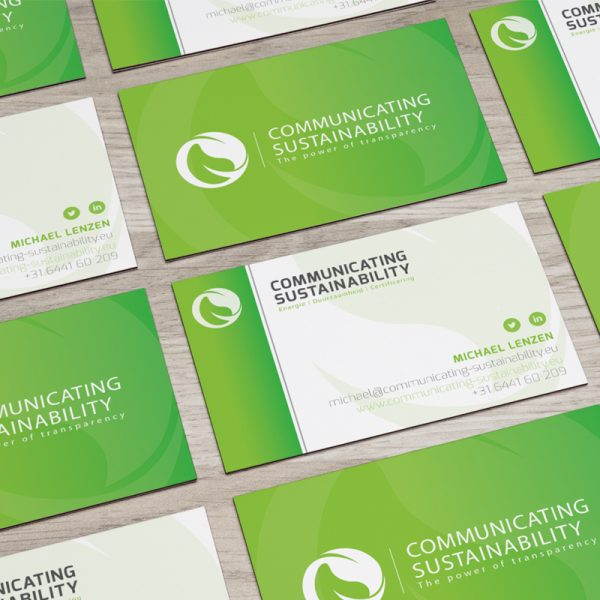 Start up Communicating Sustainability